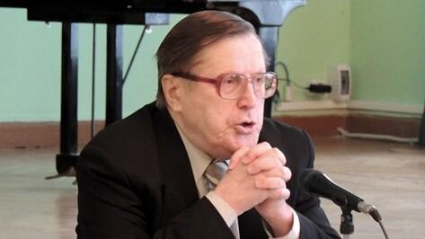 Воронежский писатель Олег Ласунский стал заслуженным работником культуры РФ