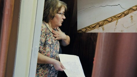 Жильцы старинного дома в центре Воронежа: «Боимся жить в своих квартирах!»