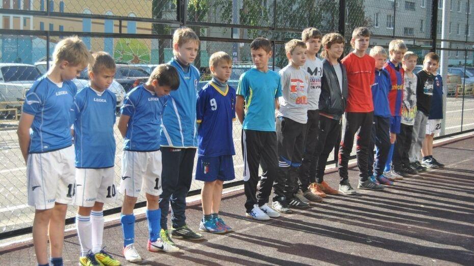 В футбольном турнире «Двор без наркотиков» поучаствуют 600 команд Воронежа