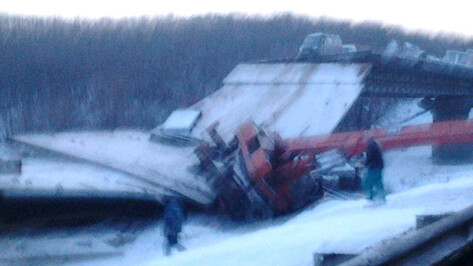 На трассе под Борисоглебском рухнул кран, погибли два человека