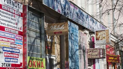 Улицы городов Воронежской области очистят от визуального мусора