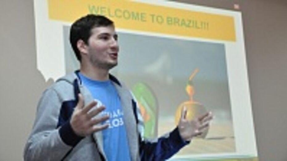 30-градусные морозы застали в Павловске бразильца