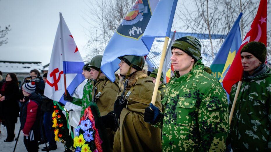 В острогожском селе Русская Тростянка отметили День освобождения от фашистов