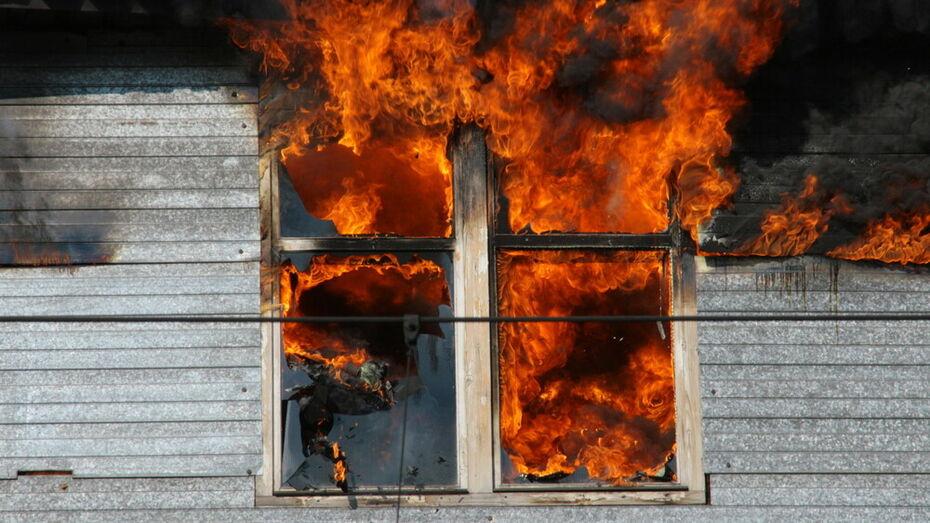 Тело 50-летнего мужчины нашли в сгоревшем доме в Воронежской области