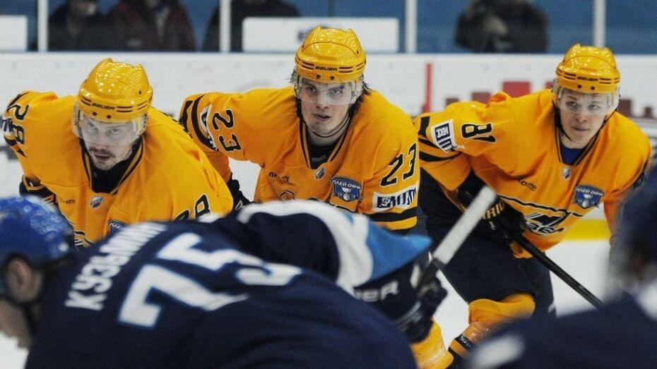 Воронежский «Буран» проиграл «Дизелю» и закончил хоккейный сезон
