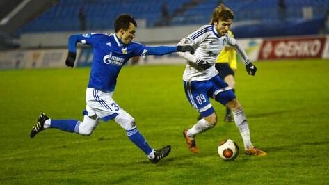 Голы игроков воронежского «Факела» попали в ноябрьский рейтинг ФНЛ
