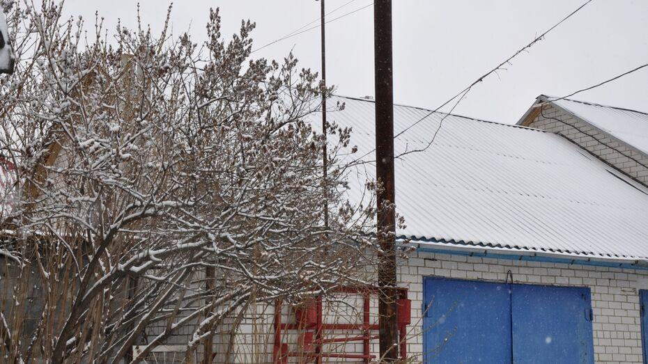 В ночь на 1 апреля в Павловском районе выпало 5 см снега