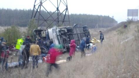 Пассажир автобуса «Москва – Воронеж» погиб в ДТП в Липецкой области