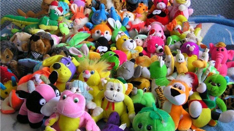 В течение трех дней в Воронеже будут собирать игрушки для сирот