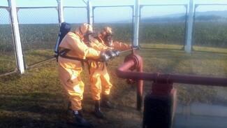 Ремонтники восстановили аммиакопровод после ЧП в Воронежской области