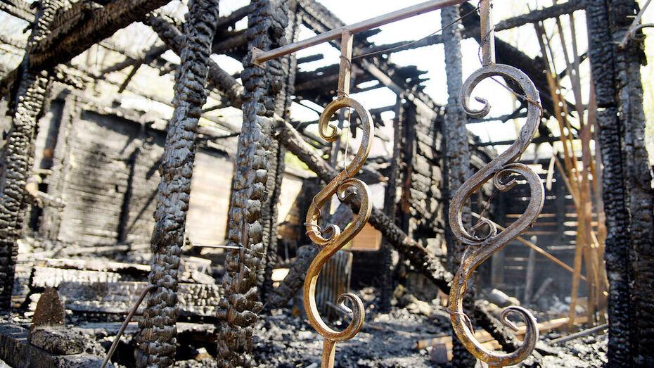 Трое мужчин погибли в ночных пожарах в Воронежской области