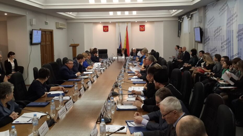 Депутаты Госдумы отчитались о работе перед воронежскими общественниками