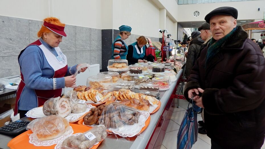 Таловчане накормили воронежцев мясом и сыром
