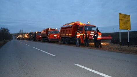 Нижнедевицкие дорожники продемонстрировали  готовность к зиме