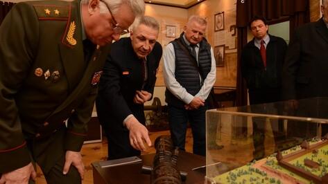 Историки из России, Италии и Венгрии посетили Острогожский историко-художественный музей