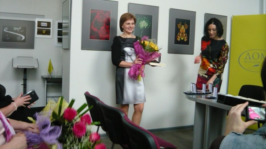 Лучший учитель Верхнехавского района получила медаль «Живое слово»