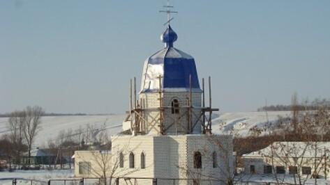В селах нескольких районов области строятся и реконструируются храмы