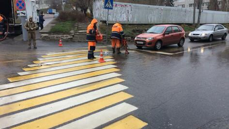 Из-за «фонтана» в центре Воронежа без воды остались 6 улиц