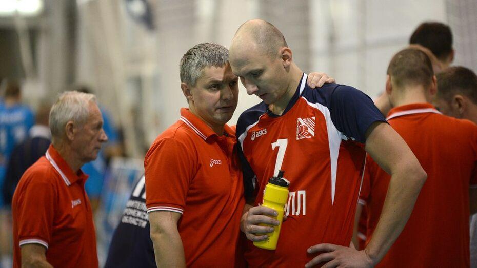 Воронежские волейболисты проиграли двенадцатый матч подряд