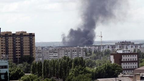 Пожар в Подгорном испугал горожан в центре Воронежа