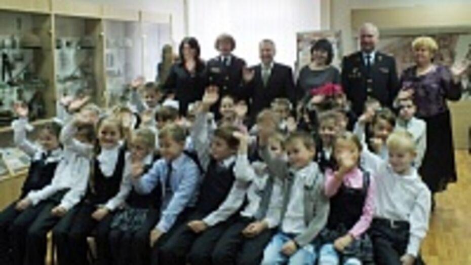 Класс воронежской школы получил имя милиционера Евгения Кольцова
