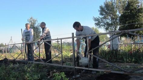 Кладбища Воронежа приведут в порядок к Пасхе