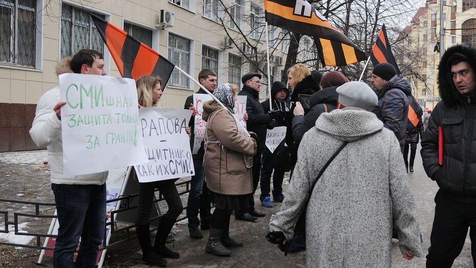 «Патриотические граждане» накричали на руководителя Центра защиты прав СМИ