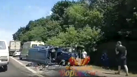ДТП на трассе под Воронежем спровоцировало пробку