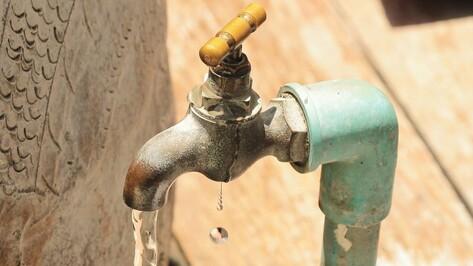 Воронежский водоканал отключит воду и канализацию у должников из частного сектора