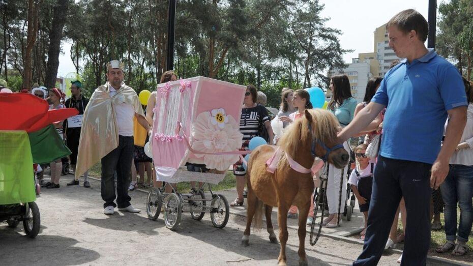 В Воронеже стартовал прием заявок на парад колясок 2016