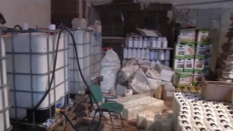 Житель Воронежской области изготовил в гараже контрафактных удобрений на 35 млн рублей