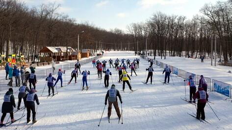 Зимний спортивный праздник устроили под Воронежем