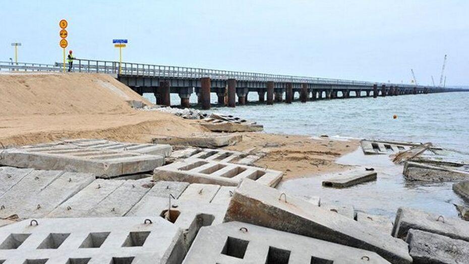 Росавтодор получил разрешение на строительство Керченского моста