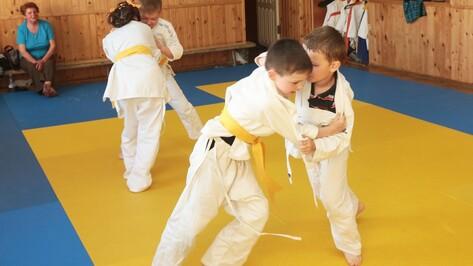 В Бобровском районе появится школа дзюдо