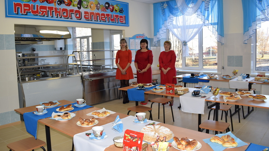 В Борисоглебске на обустройство столовой в школе №13 потратили более 7 млн рублей