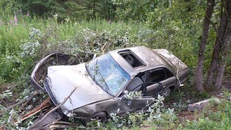 Под Воронежем разбился водитель Audi