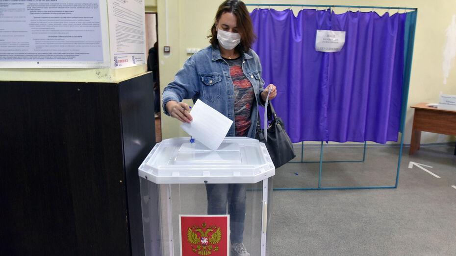 В масках и под камерами: как в Воронеже проходит первый день голосования