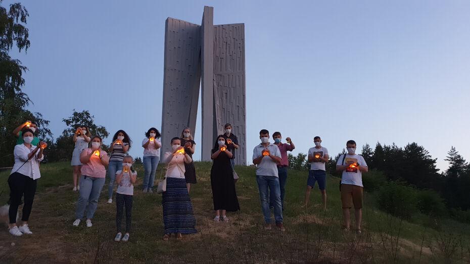 Сотрудники «РВК-Воронеж» приняли участие в акциях «Свеча памяти» и «Минута молчания»