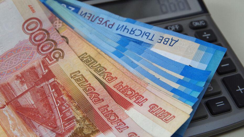 Средняя зарплата воронежцев превысила 41 тыс рублей