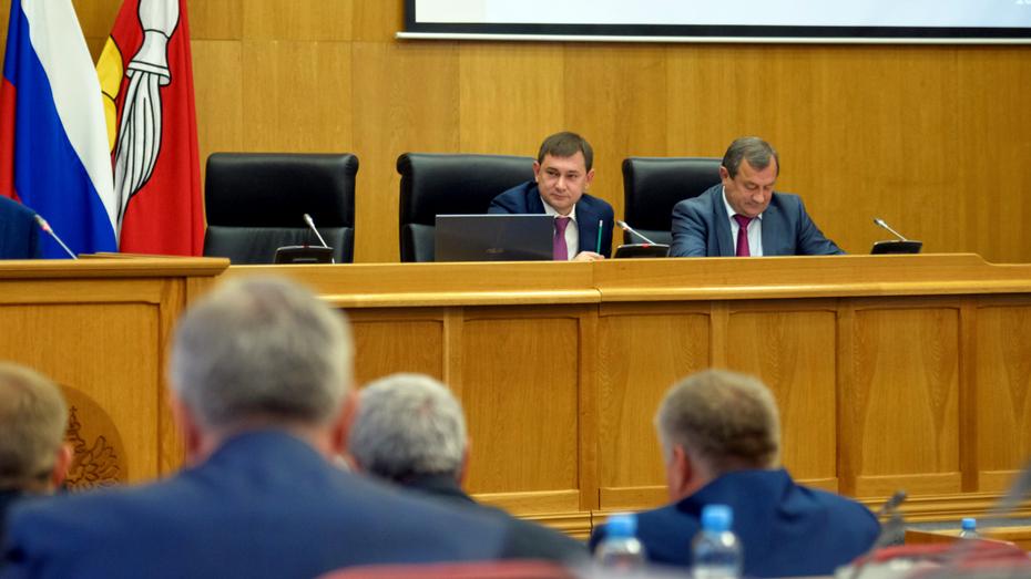Депутаты Воронежской облдумы продлили срок действия мер соцподдержки