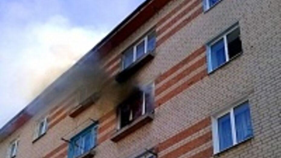В Советском районе Воронежа из-за курения сгорела целая комната