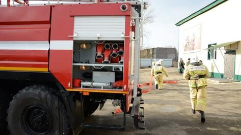 Житель Воронежской области решил понаблюдать за пожаром и поджег киоски