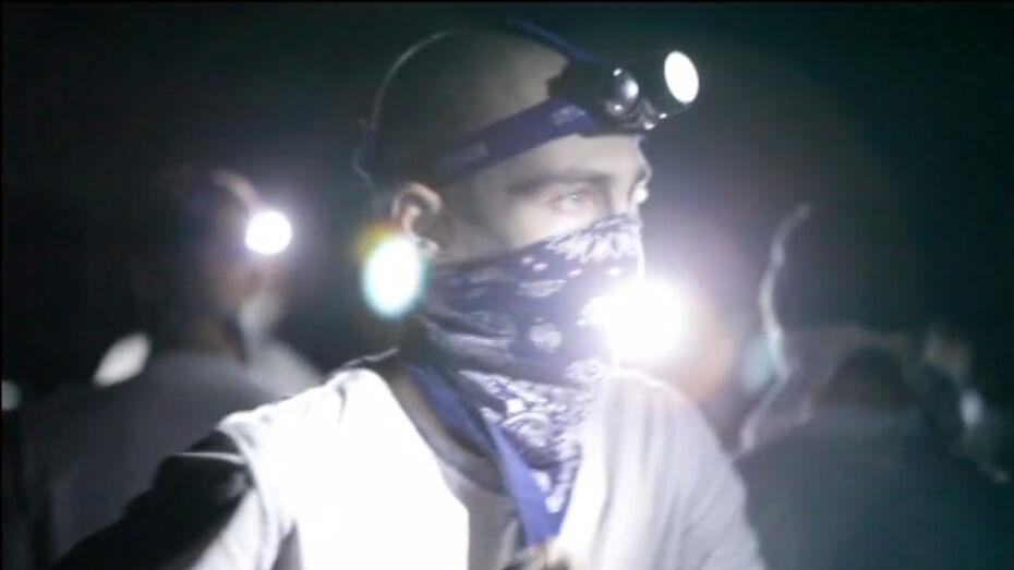 Арт-проект Вася Run опубликовал видео своего воронежского перформанса