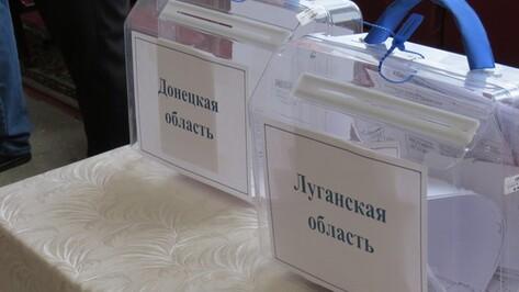 В Кантемировском районе проголосовали 157 переселенцев с Юго-Востока Украины