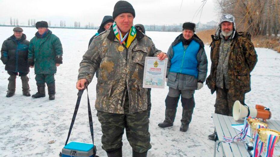 Бутурлиновец стал лучшим рыбаком Воронежской области