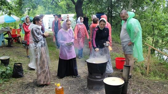 Борисоглебскую молодежь пригласили отдохнуть неделю в православном палаточном лагере