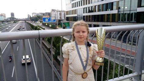 Юная воронежская шахматистка стала 3-й на первенстве Европы