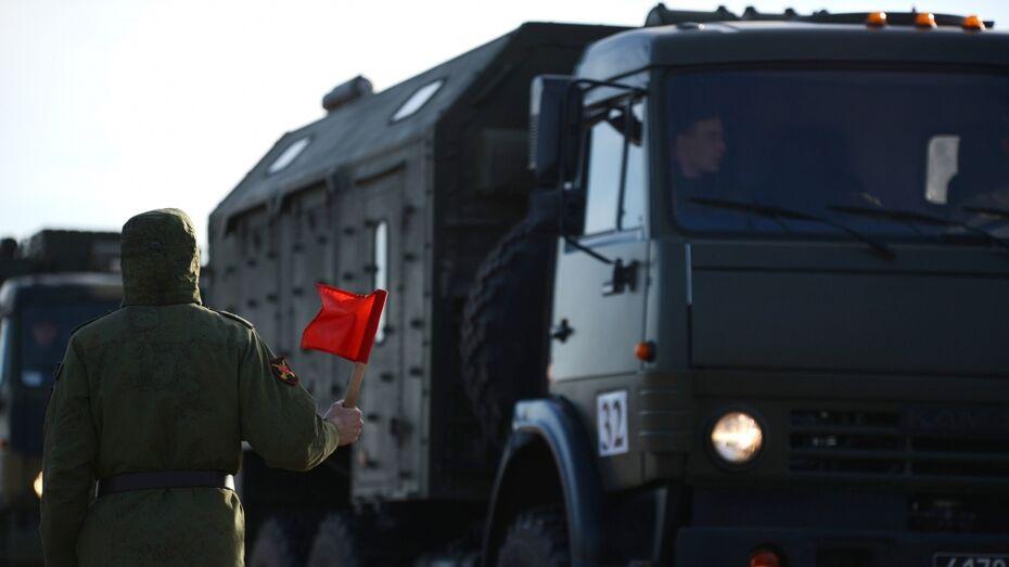 Китайские военные привезли в Воронежскую область технику для «Армейских игр»