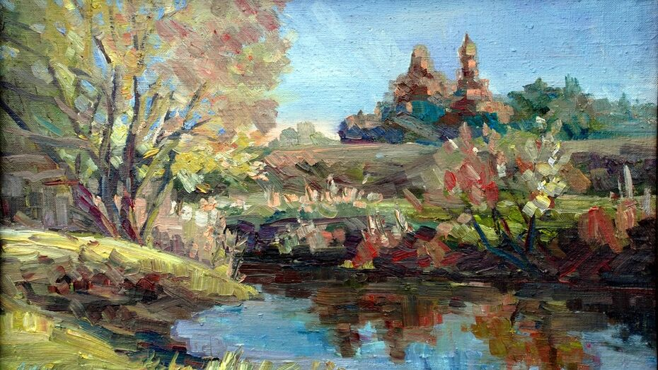 В лискинском соборе откроется выставка калачеевской художницы