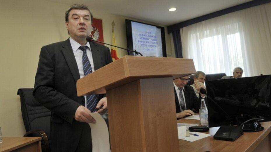 Администрация Воронежа подогрела слухи о возможной отставке мэра Сергея Колиуха